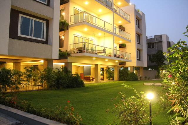 142 Park West - Best Service Apartments for Expats on Rent in Bodakdev, Ahmedabad