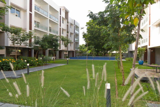 48K - Furnished Serviced Apartments for Rent in Koteshwar Bhat Road, Ahmedabad